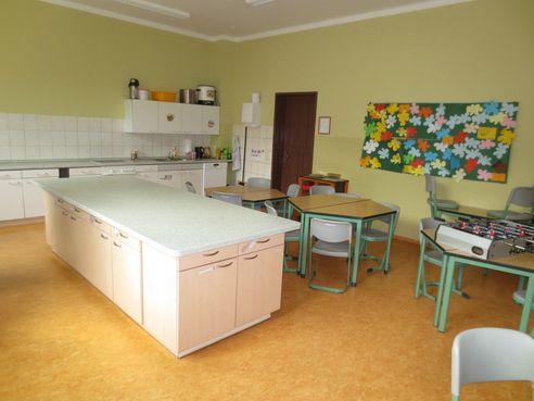 Schulküche für Unterricht und Hort