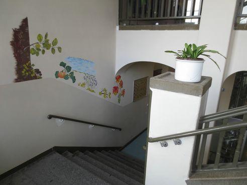 Treppenaufgang zur 3. Etage