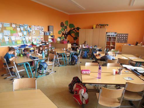 eines unserer Klassenzimmer